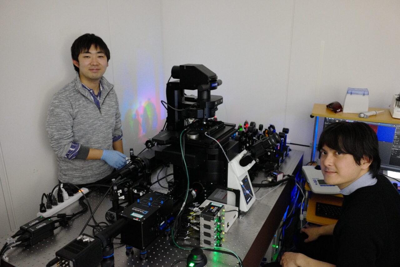 Kawaguchi Lab microscope